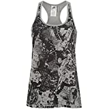 adidas Womens Ladies All Over Print Prime Tank Ladies Racer Back Sleeveless Top