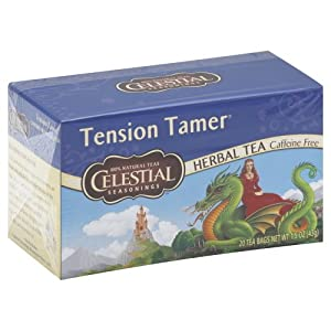 Amazon.com : Celestial Seasonings Herb Tea Tension Tamer 20.0 CT (Pack