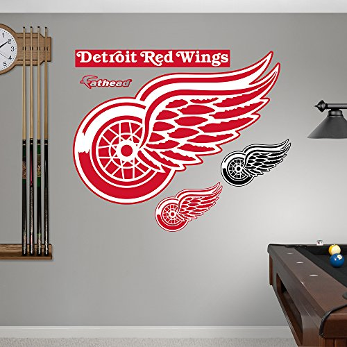 NHL Detroit Red Wings Power Pack Real Big Wall Decals