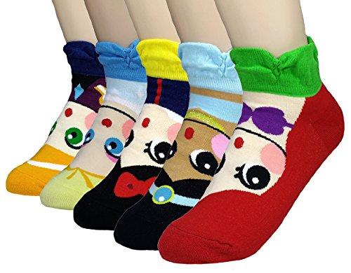 jjmax-girls-princess-series-character-socks-elsa-anna-ariel-snow-white-jasmine-3-to-5-years-old-5-pr
