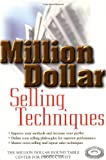img - for Million Dollar Selling Techniques book / textbook / text book