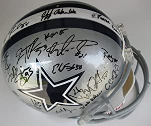 2012 Dallas Cowboys Team Signed Full Size Helmet Certificate of Authenticity with... by Riddell