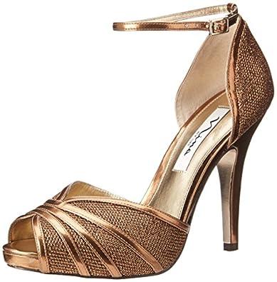 Amazon.com: Nina Women's Eliane YY Dress Sandal: Shoes