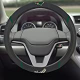 "NHL Minnesota Wild Steering Wheel Cover, 15"" X 15""/Small, Black"