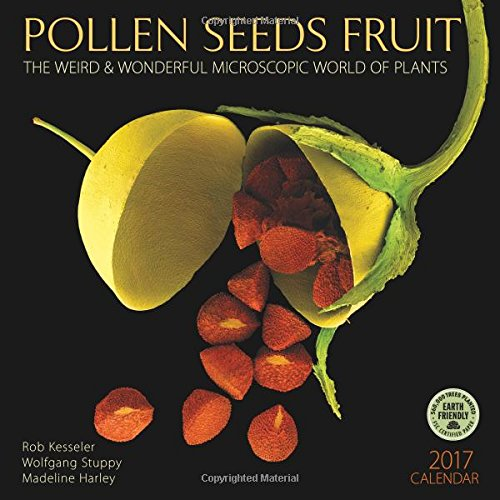 Pollen Seeds Fruit 2017 Wall Calendar: The Weird & Wonderful Microscopic World of Plants