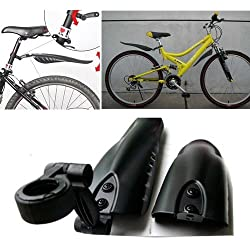 Swallow Tail Splash Guard for Bike Bicycle-Black
