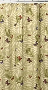 Creative Bath Products Inc. S0949MULT Bora Bora Shower Curtain, Multicolored
