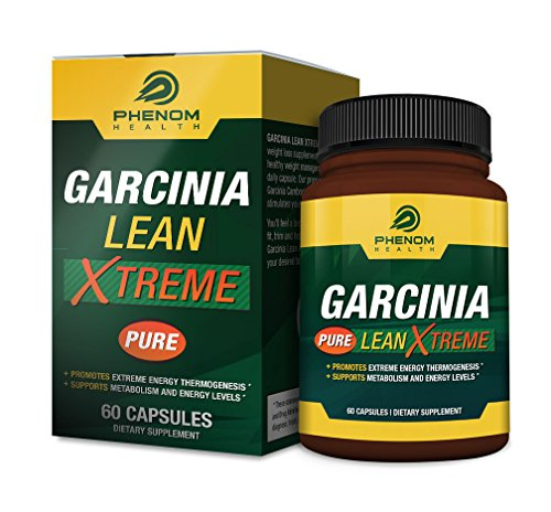 Premium Garcinia Lean Xtreme Cambogia Extract Formula - 60 High Potency Capsules - 60 Percent HCA (Nature Renew Cleanse compare prices)