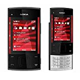 Nokia X3-00 Slider Black/Red Unlocked Mobile Phone Camera 3.2MP