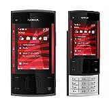 Nokia X3-00 Slider Black/Red Unlocked Mobile Phone Camera 3.2MP