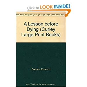a lesson before dying book vs Alcoholism many characters in a lesson before dying demonstrate an unhealthy relationship with alcohol, from jefferson and grant to edna guidry and henri pichotthe murder of alcee gropé occurs because brother and bear are desperate for wine, and jefferson is unable to explain what happened in great detail because he was drunk in a sense, the main conflict of the book can be blamed on .