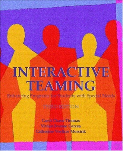 Interactive Teaming: Enhancing Programs for Students with Specia