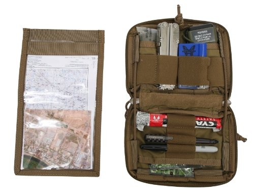 Tactical Tailor Fight Light Enhanced Admin Pouch, Coyote Brown