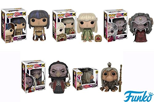 Pop! Movies: The Dark Crystal - Jen, Kira and Fizzgig, Aughra, The Chamberlain Skeksis and UrSol Vinyl Figures! Set of 5