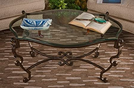 Coffee Table in Bronze