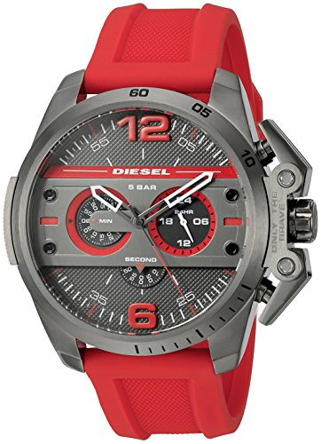 diesel-mens-dz4388-ironside-gunmetal-red-silicone-watch