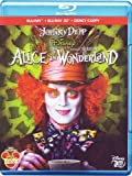 Alice In Wonderland (2010) (3D) (Blu-Ray+Blu-Ray 3D+E-Copy)