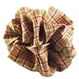 Offray Country Holiday Plaid Wired Edge Ribbon, 2 1/2
