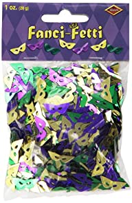 Fanci-Fetti Mardi Gras Masks (asstd g…