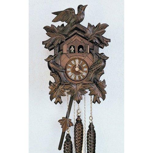 Schneider 12 Inch Musicman Black Forest Cuckoo Clock