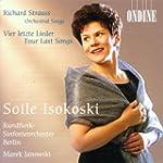 R. Strauss : Lieder avec orchestre -...