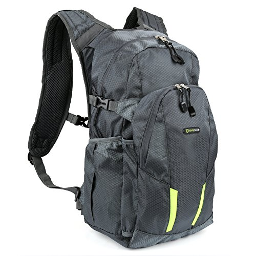 15L-Hiking-Backpack-Evecase-Advanced-Lite-Compact-Lightweight-Outdoor-Climbing-Camping-Outdoor-Sports-Travel-Daypack-Backpack-Gray