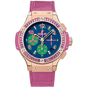 Hublot Big Bang Pop Art Rose Gold Pink Automatic Chronograph - 341.VP.5199.LR.1933.POP14 by Hublot