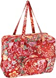 Oilily Painted Flowers Folding shopper Stone OCB0117-9000