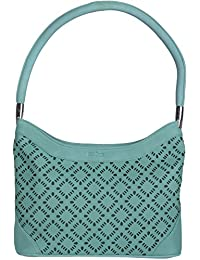 Stitch & Turn Women Handbag (Light Green, AGV_light Green)