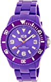 Ice-Watch Unisex-Armbanduhr ice-Solid Big Violett Analog Quarz SD.PE.B.P.12