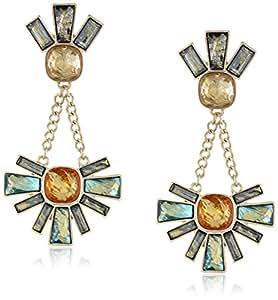 Sam Edelman Cluster Drop Earrings