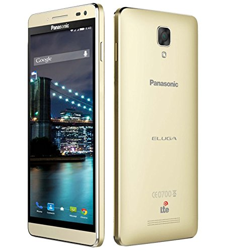 Panasonic Eluga I2 4G - 2GB Metallic Gold By Amazon @ Rs.6,956