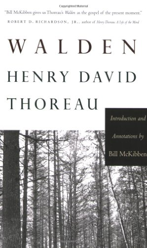 Walden: Introduction and Annotations by Bill McKibben...