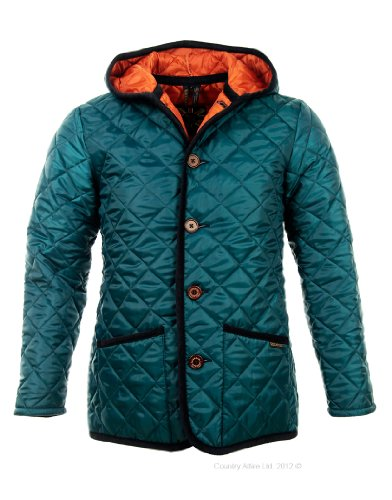 Lavenham Men's Craydon BB Quilted Jacket - Petrel XXL