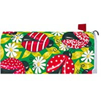 Fancy Ladybugs 1507MM Magnetic Mailbox Cover Wrap