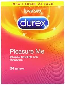 Durex Pleasure Me Condoms - Pack of 24