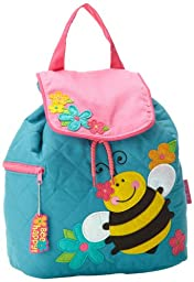 Stephen Joseph Quilted Backpack, Bee