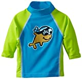 Flap Happy Unisex-Baby Infant UPF 50+ Screen Print Swim Shirt Rashguard