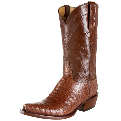 Lucchese Classics Men's GB9280 5/3 Western Boots,Cigar/Antique Brown,10 EE(W)US