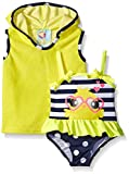 Baby Buns Baby Little Chick Terry Cover Up Swim Set, Multi, 6-9 Months