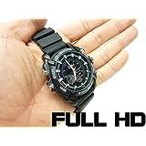 赤外線付 腕時計型カメラ【フルHD】【高画質】【生活防水】【16GB内蔵】