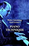 Walter GiesekingKarl Leimer Piano Technique Partitions