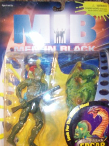 Alien-Attack Edgar Deluxe Action Figure - MIB: Men In Black - Look for the Hidden Alien!