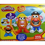 Mr. Potato Head PLAY-DOH With 5 Colors Of Dough Mat Molds And Accessories