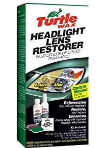 Turtle Wax T-240KT Headlight Lens Restorer Kit from Turtle Wax