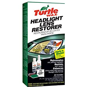 Turtle Wax T-240KT Headlight Lens Restorer Kit $7.99