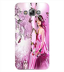 ColourCraft Lovely Angel Design Back Case Cover for SAMSUNG GALAXY GRAND 3