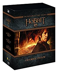 The Hobbit Trilogy - Extended Edition [Blu-ray 3D] [Region Free]
