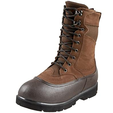 """LaCrosse Men's 10"""" Alpha Iceman Cold Weather Boot,Brown,8 M US"""