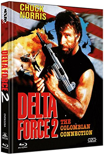 Delta Force 2 - uncut (Blu-Ray+DVD) auf 666 limitiertes Mediabook Cover A [Limited Collector's Edition] [Limited Edition]